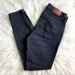 Madewell Skinny Skinny Zip Jean Rebel Wash 28
